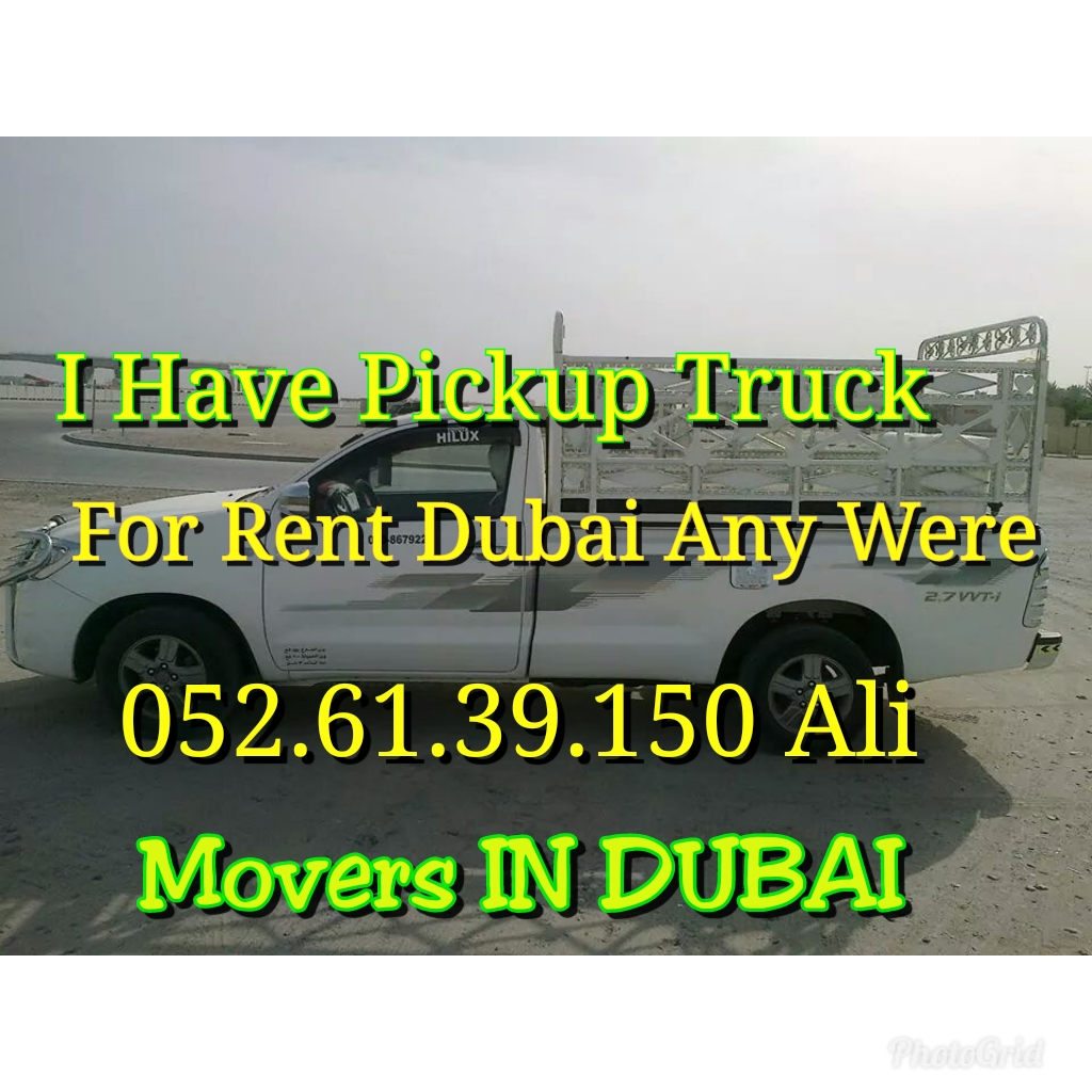 Pickup for rent Dubai call 0526139150