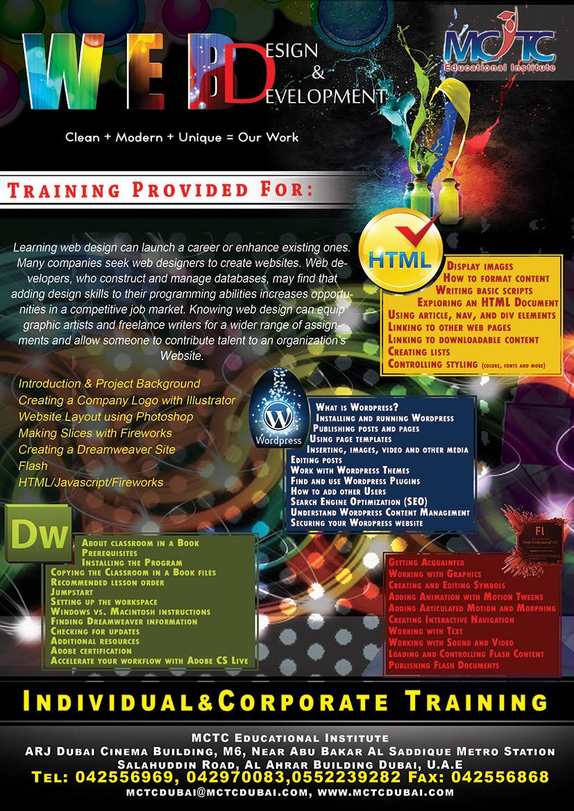Best Web Development Courses in Dubai | MCTC Dubai
