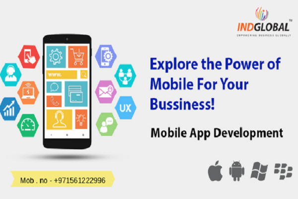 Mobile App Development company in Dubai | Indglobal