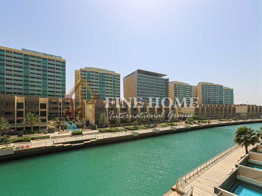 4BR+ Maids Room with Full Sea View in Al Raha