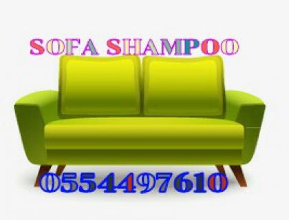 Professional Cleaning Services For Sofa Shampoo Dubai 055449