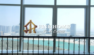 Huge 2BR+1BR Apartment with Sea  Pool View in Al Reem Island