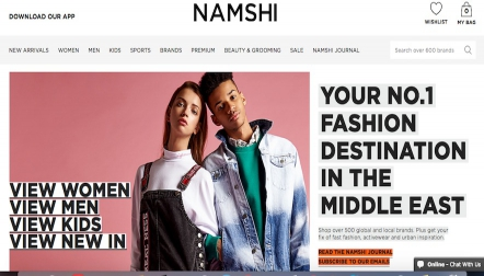 Namshi.com: Fashion Clothing for Men, Women  Kids | Online Shopping in Dubai  UAE