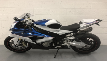 BMW S1000RR in excellent condition
