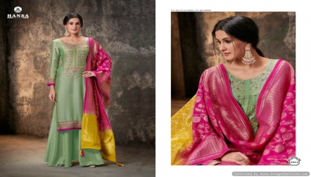 HansaHusna Banarasi2 is a stani salwar suit of hansa brand available online
