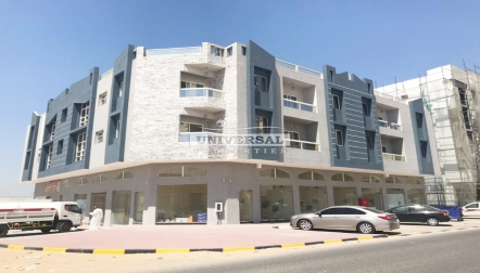 Big Size Studio With Balcony In Ajman Jurf Area
