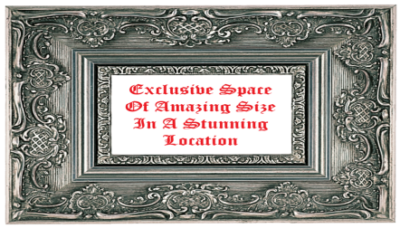 Exclusive Space Of Amng Size In A Stunning Location