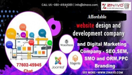 Affordable Website Designing And SEO Companies | Zinavo