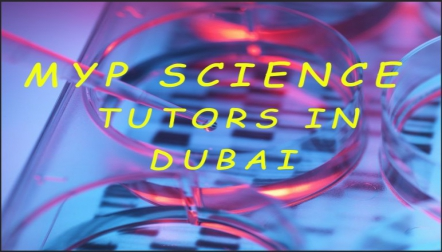 Dubais first and only MYP science tutoring center