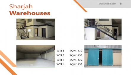 Warehouses for rent in Sharjah