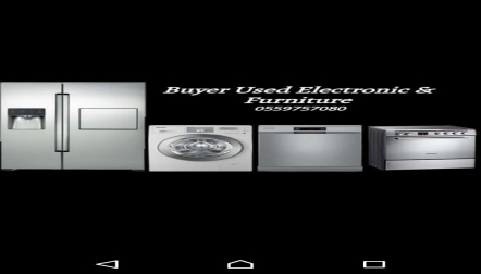 Buyer Used Furniture  Electronics 0559757080