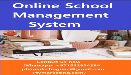 Online School Management System with many Features