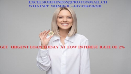 we are giving out loan at low interest rate of 2