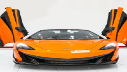 MCLAREN 600 LT SPIDER FOR SALE   EXOTIC CARS DUBAI