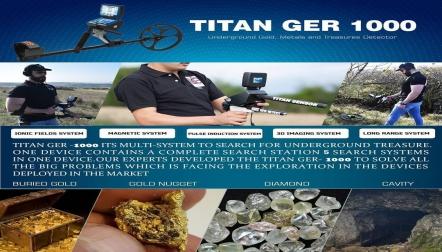Titan Ger 1000  Best Gold and Metal Detectors 2020