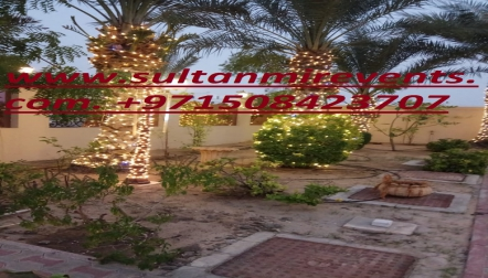 Sultan Mir Decoration Rental Lights Services Satwa