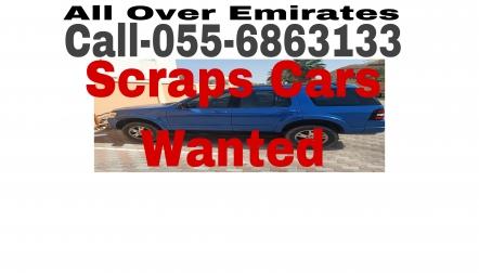 ABU DHABI UAE CALL 055 6863133 WE BUY SCRAP CARS