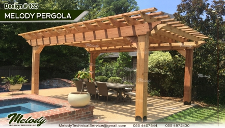 Wooden Pergola | Pergola Suppliers | Pergola Arabian Ranches