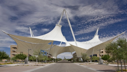 Tensile Fabric Structure | Call Now  +971 523674166