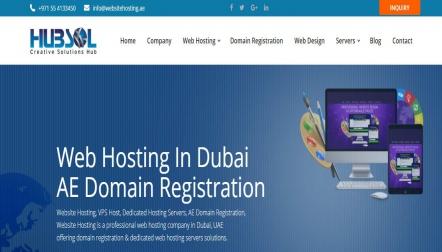 Website Hosting in Dubai