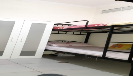 PARTITION And BED SPACE ALRIGGA  dubai