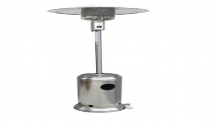Outdoor stainless steel patio heater