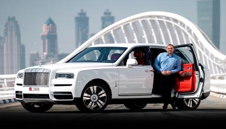 Rolls Royce Cullinan 2020 For Rent in Dubai