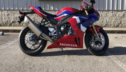 2021 HONDA CBR1000RRR FIREBLADE SP
