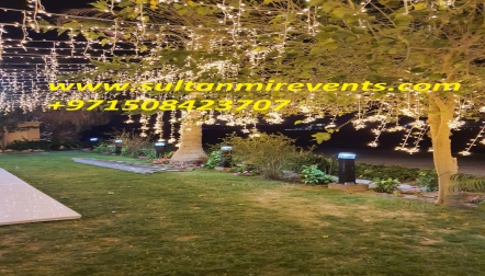 Rental lights services for Ramadan, Weddings, parties