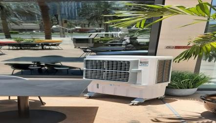 Outdoor air cooler8000 airflow