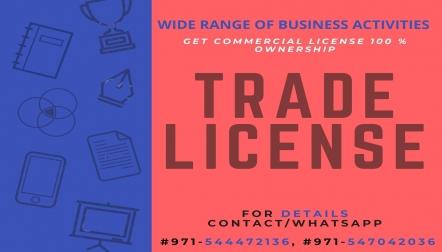 Trade license setup in Dubai Mainland 0547042036