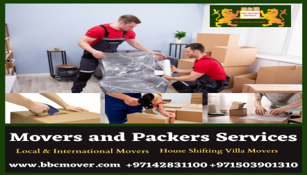 Movers s and Storage Services in Dubai