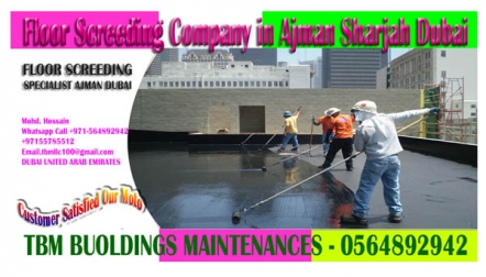 Roof Top Water proofing service in Ajman Sharjah Dubai