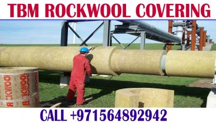 Rockwool insulation covering Work Contractor Dubai Ajman Sharjah